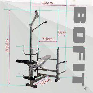 Ghế Đẩy tạ đa năng BoFit 214