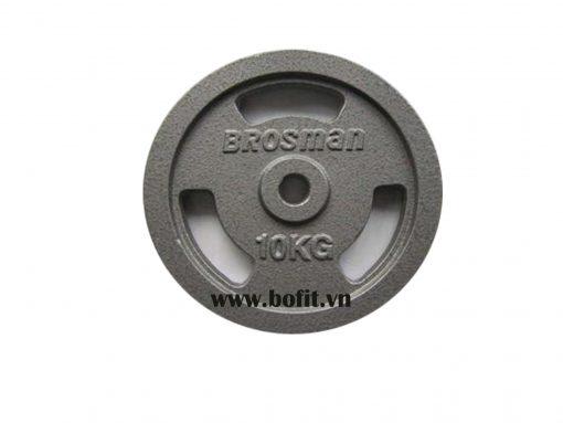 Tạ đĩa sắt Brosman 10Kg