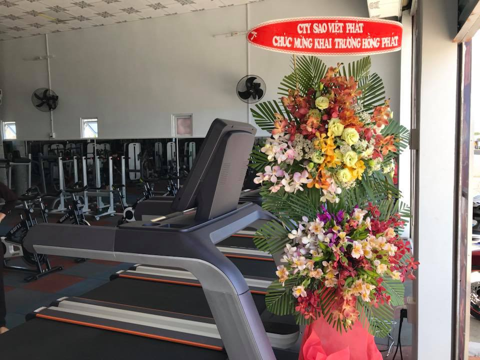Sao Việt Phát Gửi Hoa Chúc Mừng Ngày Khai Trương Phòng Gym