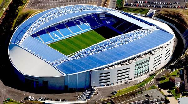 Falmer Stadium là lãnh địa của Brighton